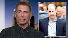 Rob Lowe defends Prince William bald comments, calls the royal a 'stud'