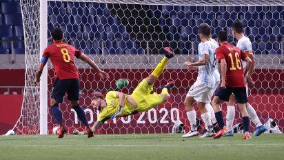 El 1x1 de la selección española tras empatar ante Argentina (1-1) en Tokio 2020