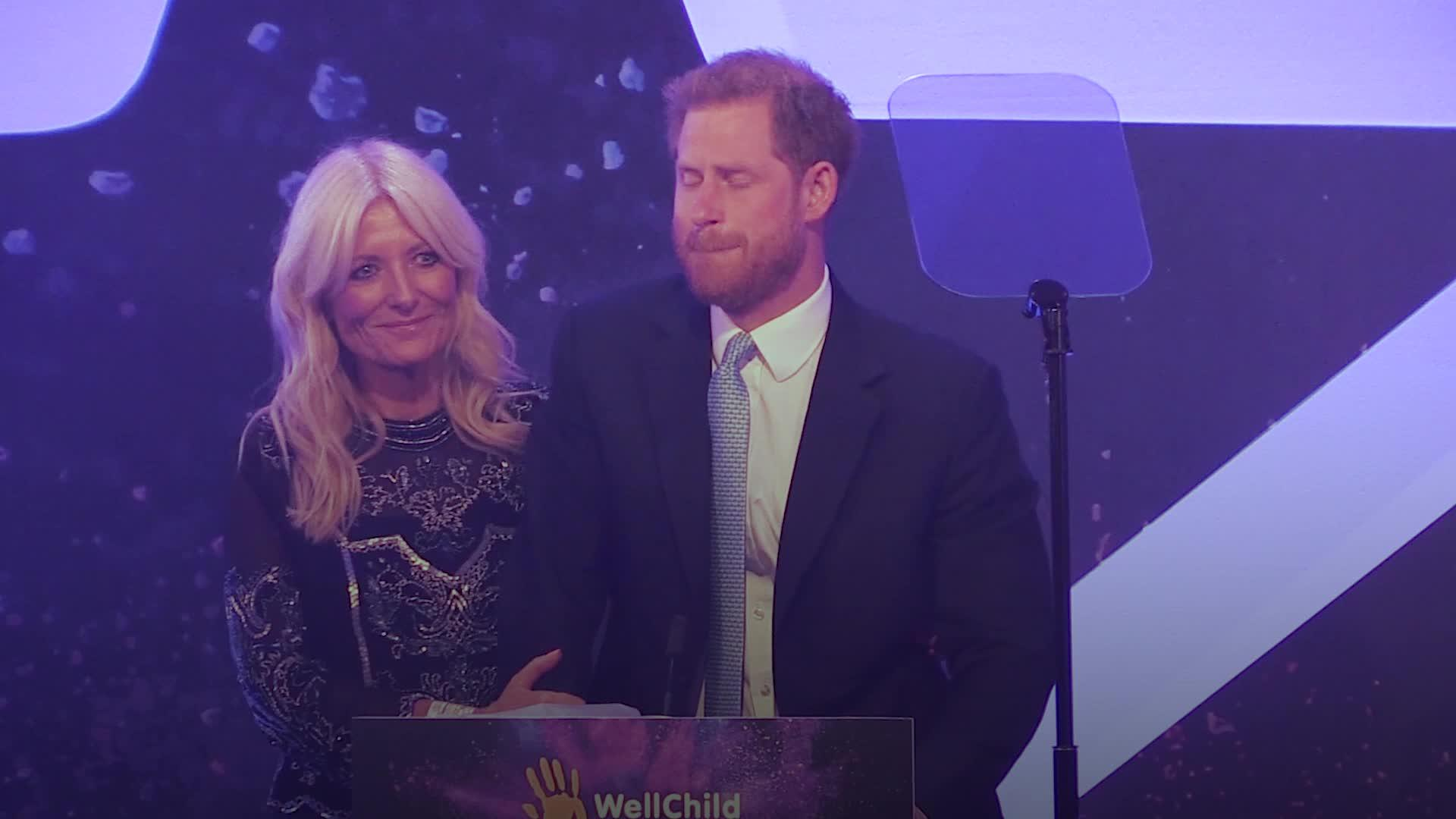 Prince Harry chokes up while talking about becoming a father — and reveals that Archie is a redhead