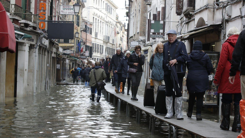 Venedig Hochwasser Aktuell