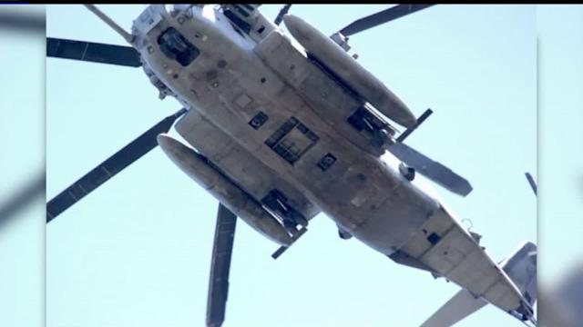 Low-Flying Military Helicopter Concerns Homeowners