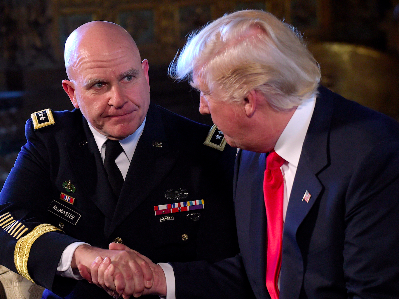 Trump responds to critics who want H.R. McMaster fired