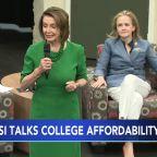 Nancy Pelosi visits Delaware County Community College