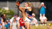 Incredible new twist in viral photo of female footy star