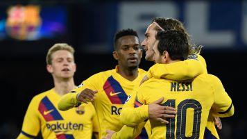 Barcelona, Napoli draw in Champions League