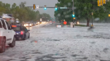 Thunderstorm Drops Hail, Floods Colorado Streets
