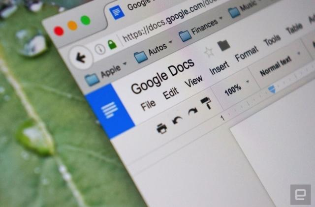 Google Docs is now easier for visually impaired users to navigate