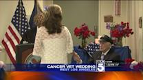 World War II Vet Facing Cancer Treatment Gets Married
