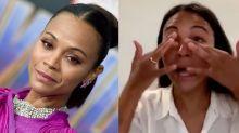 Zoe Saldaña pide perdón entre lágrimas por haber interpretado a Nina Simone