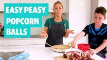 Easy Peasy: How to make popcorn balls