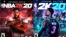 NBA 2K20 | Anthony Davis e Dwyane Wade são capas do game, que chega em setembro