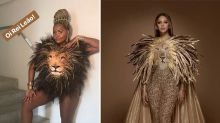 "Beyoncé ""copia"" look de Gaby Amarantos e cantora se emociona"