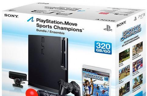 160GB PS3 Slim, 320GB Move bundle coming to US and Europe this fall