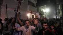 Grief, rage in Egyptian church after Copts attacked by gunmen
