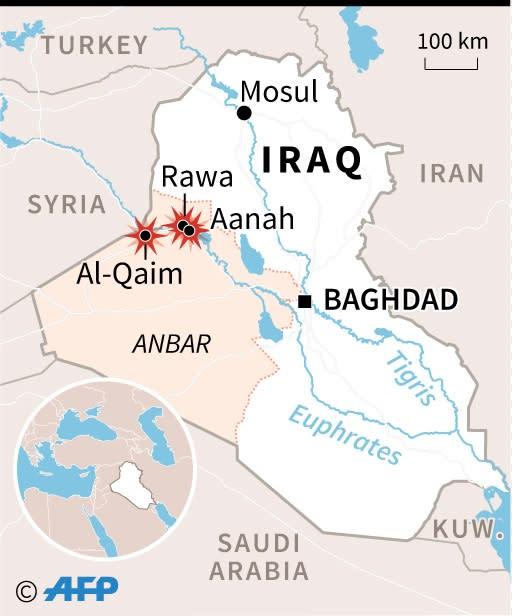 Iraq, Anbar province (AFP Photo/)