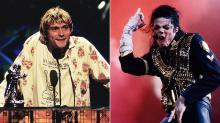 Kurt Cobain's VMA Moonman, Michael Jackson's Glove Up for Auction
