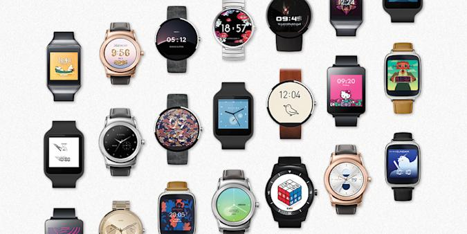New Android Wear watch faces include Angry Birds and Hello Kitty