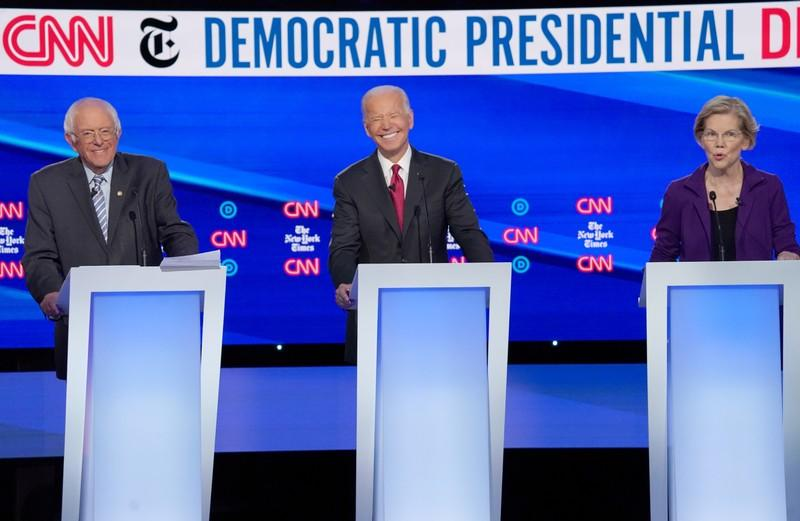 Democrat Debate: Joe Biden Gives Up on Attacking Trump's Tweets Mid-Sentence
