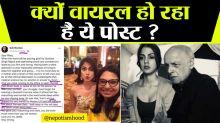 Mahesh Bhatt associate's FB post to Rhea Chakraborty goes viral; Here's why