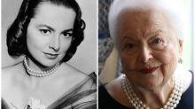 El antes y después de famosos que han superado (o casi) el siglo de vida