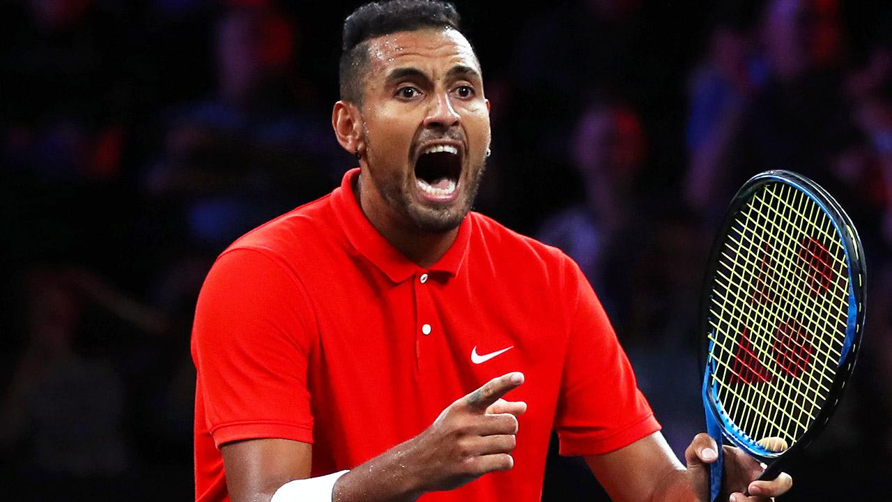 'Completely crazy': Rival's explosive swipe at 'idiot' Nick Kyrgios