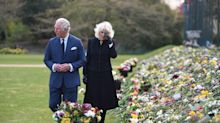 Prince Charles Gets Emotional as He Views Public Tributes to Father Prince Philip with Camilla