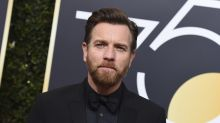 Ewan McGregor grilled backstage at Golden Globes about returning to 'Star Wars' as Obi-Wan Kenobi