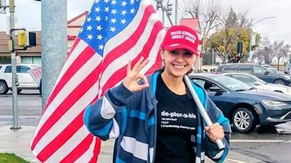 Teen fighting to wear her MAGA hat to school