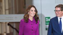 Kate Middleton recicla en color