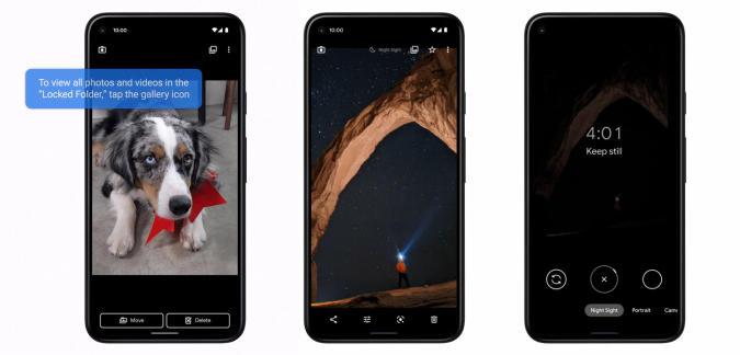 Google Pixel Feature Drop June 2021 Night Sight Video
