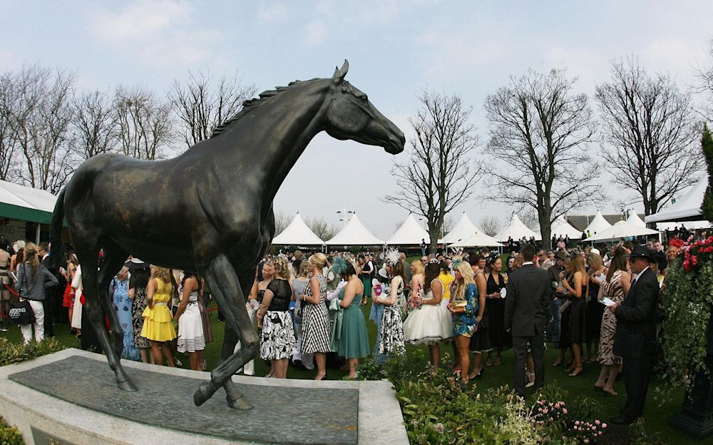 Red Rum: perhaps the most special National horse of them all - AFP