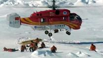 Rescued Antarctic passengers continue journey home