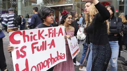 Amid protests, Chick-fil-A will stop anti-gay donations