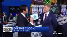 Celebrity chef Bobby Flay sticks with consumer staples in the 2019 Stock Draft