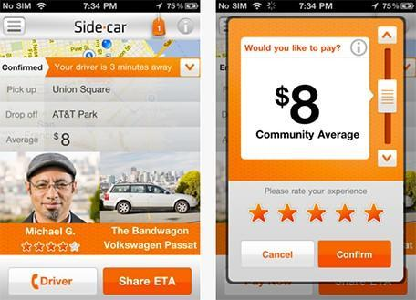 Hitch a car ride with SideCar for iPhone