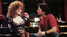 Lea Thompson took home prosthetic breasts from set of 'Back To The Future Part II'