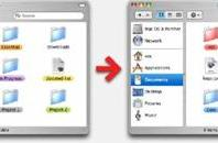 Hey Folders! adds colored folders to Finder