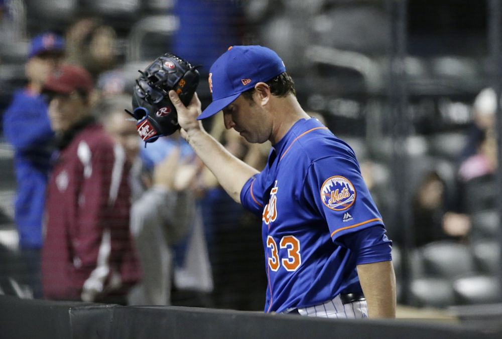 The Matt Harvey drama with the Mets is getting intense. (AP)