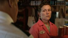 Woody Harrelson's sheriff investigates Frances McDormand for dental crimes in 'Three Billboards' clip (exclusive)