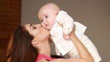 Anahí celebra los 6 meses de su hijo; mira como está el bebé