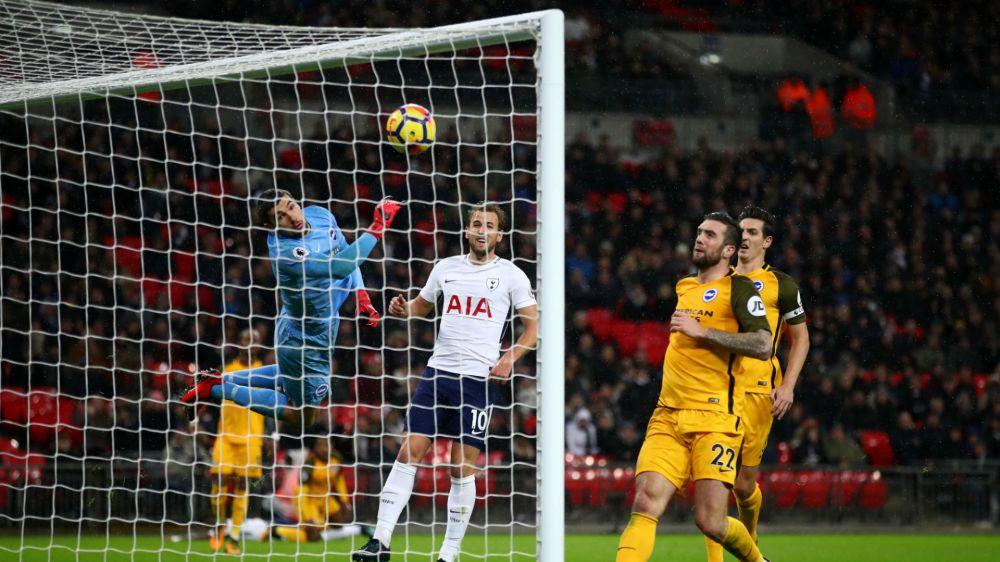 Tottenham 2 Brighton and Hove Albion 0: Aurier scores a fluke as Spurs go fourth