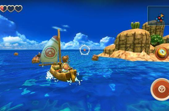 Oceanhorn is a console sized adventure on mobile