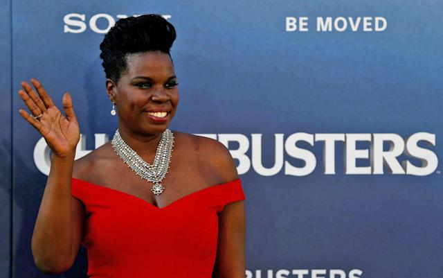 Hackers target Leslie Jones, post nude photos to her site