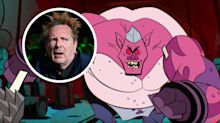 Johnny Rotten voicing a mutant pig in 'Rise of the Teenage Mutant Ninja Turtles'