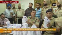 Punjab Police recovers 13.7 kg heroin near India-Pak border in Amritsar