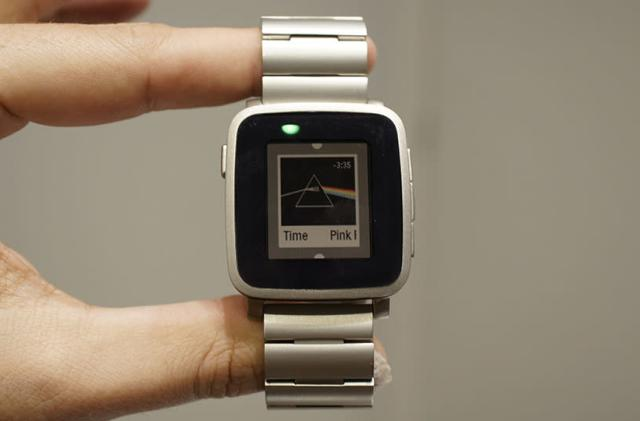 Pebble's Time Steel smartwatch ships to backers at month's end