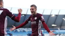 Vardy treble inspires Leicester to 5-2 win over Man City