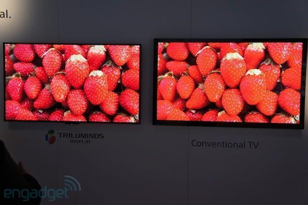 Quantum dots help return 'Triluminos' RGB LED lighting to Sony HDTVs