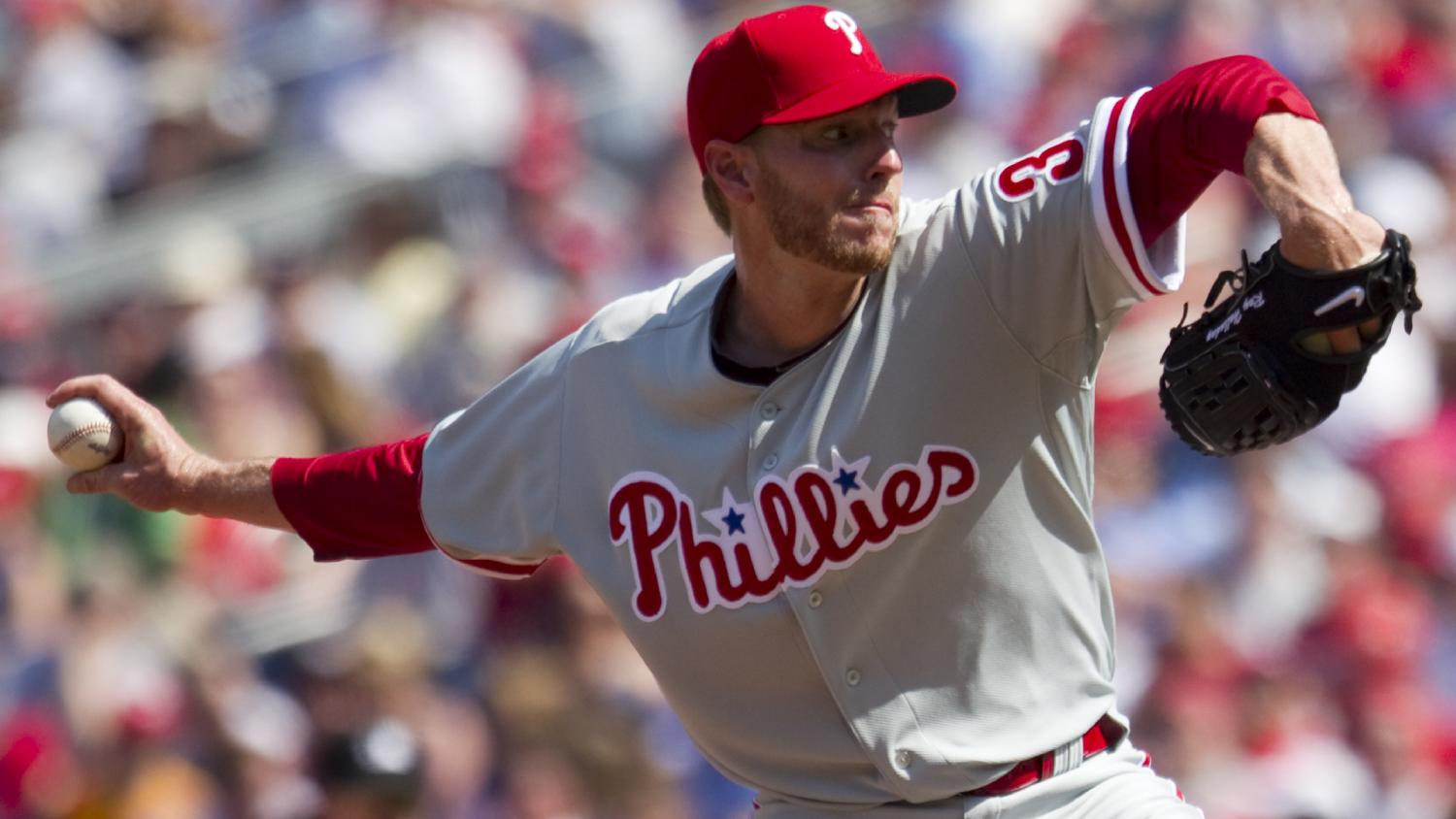 Halladay, Phillies rout Nationals in season opener