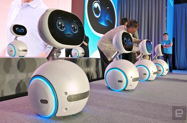 Taiwan to get first dibs on ASUS' Zenbo home robot